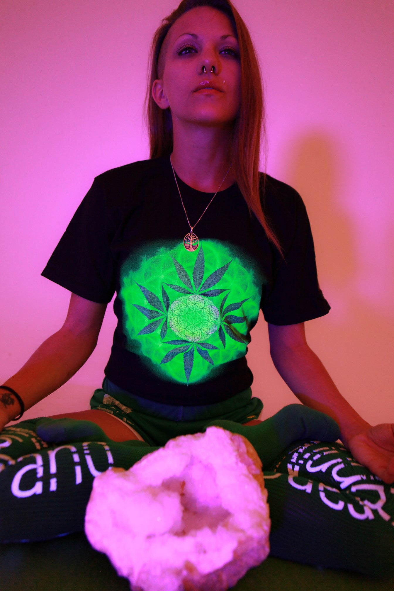 Nugbrand Flower of Weed T-Shirt