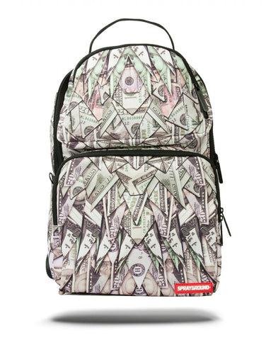 Sprayground Origami Money Trooper Backpack