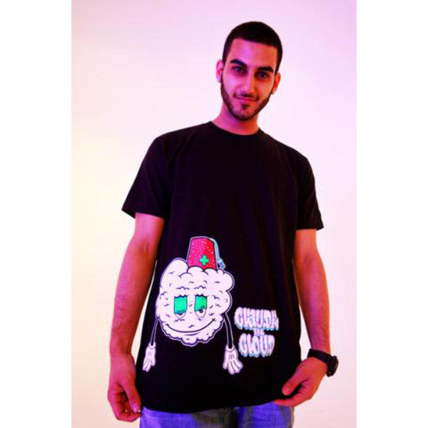 "Nugbrand Nuggy & Budz ""Claude the Cloud"" T-Shirt"