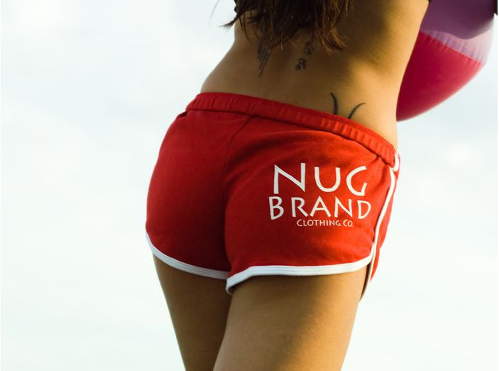 Nugbrand All City Bird Booty Shorts