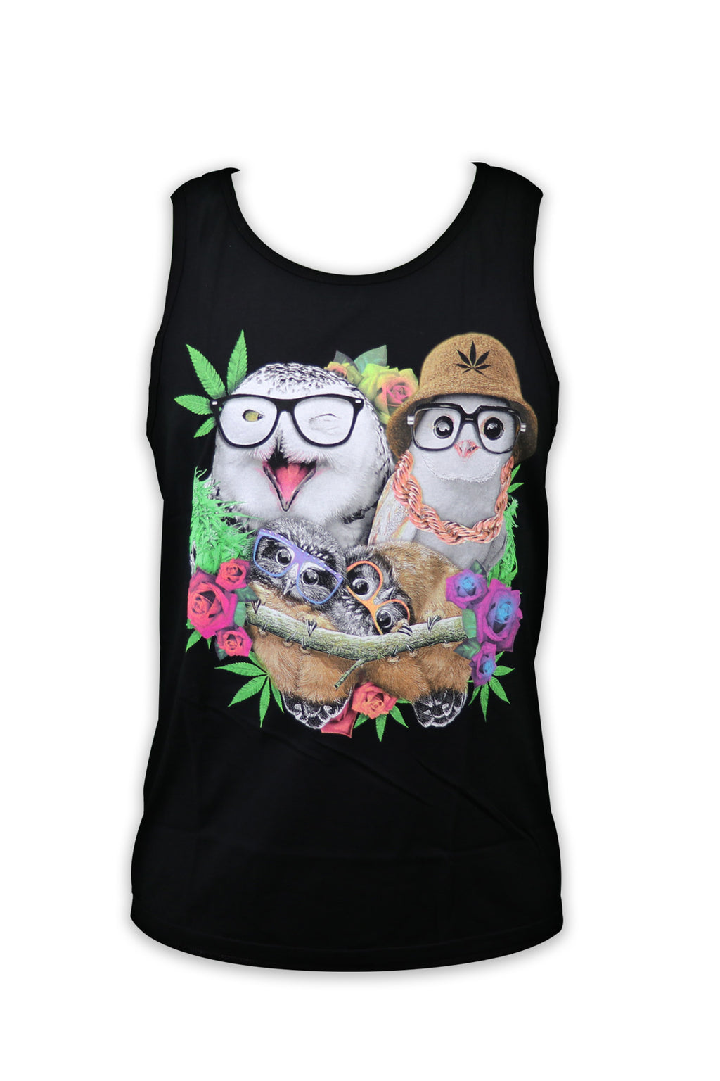 Hipster Owls Tank