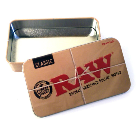 Raw Tin Container