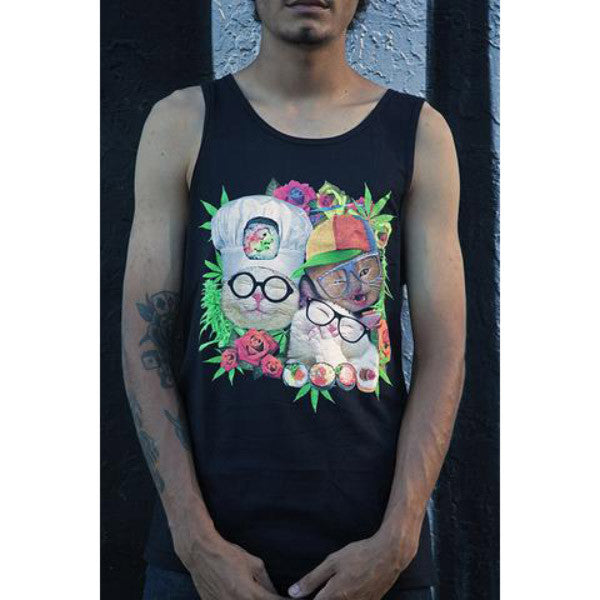 Nugbrand Hipster Cats Tank
