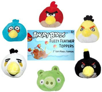 Angry Birds Fuzzy Feather Topper