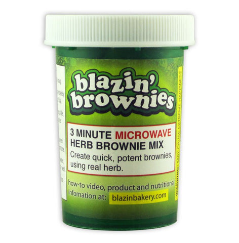 Blazin' Bakery Blazin' Brownies Microwave Mix
