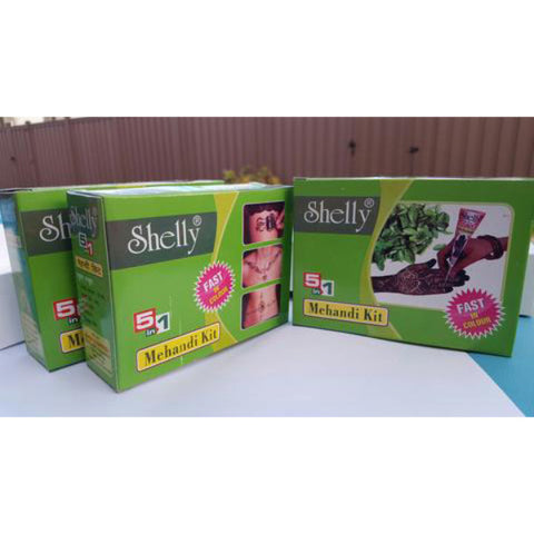Shelly Mehandi (Henna) Kit