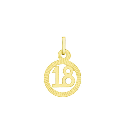 9ct Yellow Gold Pendant 342 - Armin Lowe Jewellers Sligo