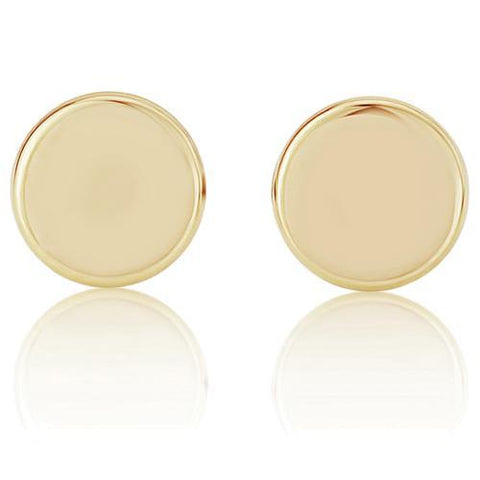 9ct Yellow Gold Earring, 9ct gold stud earrings 31313 - Armin Lowe Jewellers Sligo