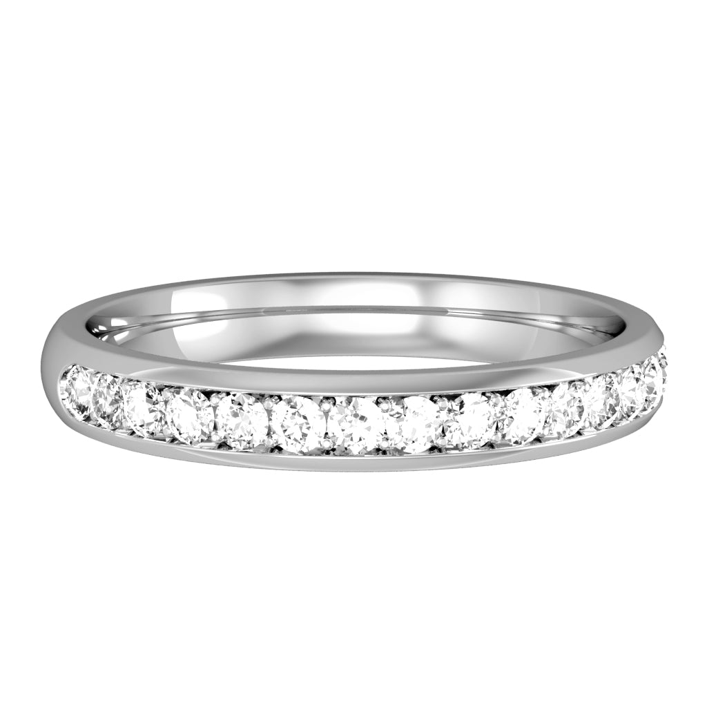9ct White Gold Ring 32612