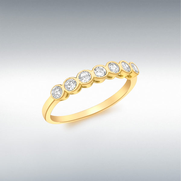 9ct Yellow Gold Ring,  358