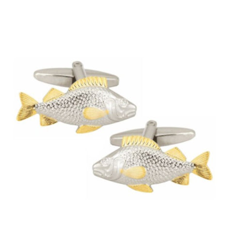 Rhodium Plated Cufflinks 7151