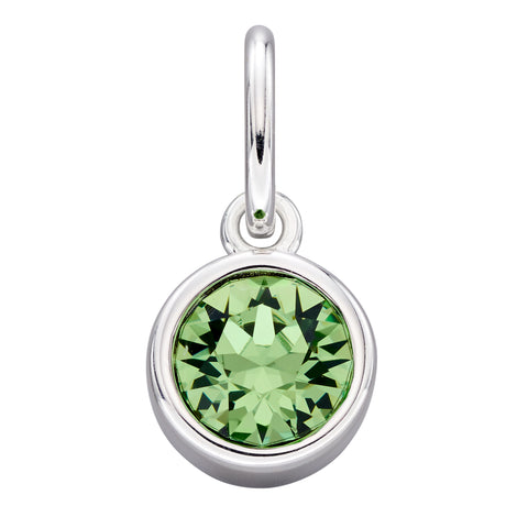 August Swarovski brithstone hanger - add to a bracelet or pendant, can be worn simply on a chain 34203