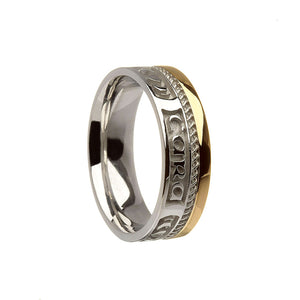 St.Silver+10ct Ring 10227