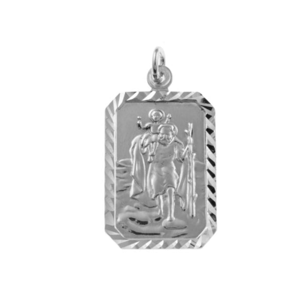 Sterling Silver Pendant 33554