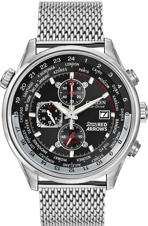 Citizen CA0080-71E Gents Red Arrows Chronograph Gift Set
