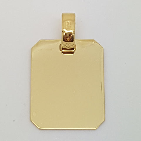 9ct Yellow Gold Pendant 33559