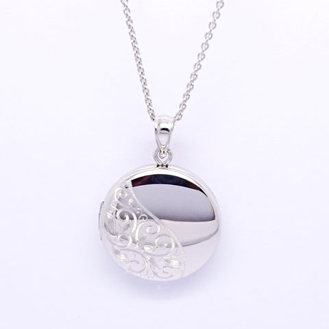 Sterling Silver Pendant 34059