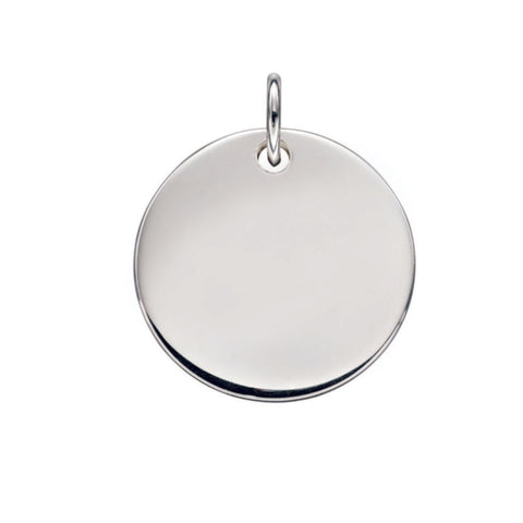 Sterling Silver Pendant 34019