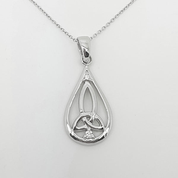 Sterling Silver Pendant 33403