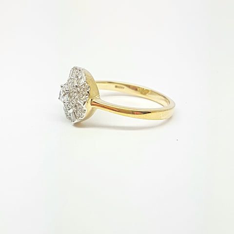 9ct Yellow Gold Ring 34036