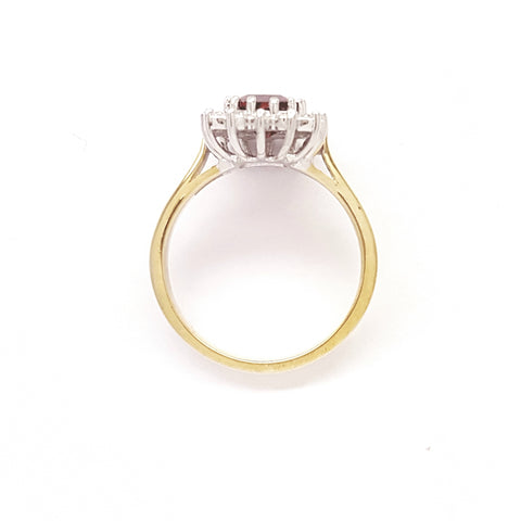 9ct Yellow Gold Ring 34034