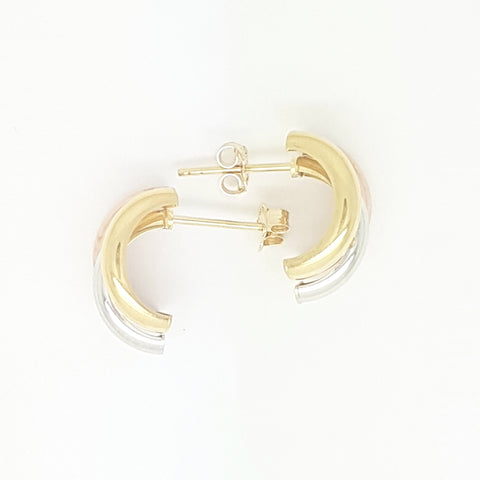 9ct Yellow Gold Earring 34021