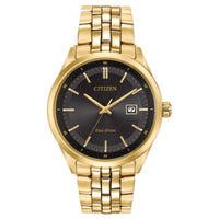 Citizen Gold plated Gents Watch (33475) - Armin Lowe Jewellers