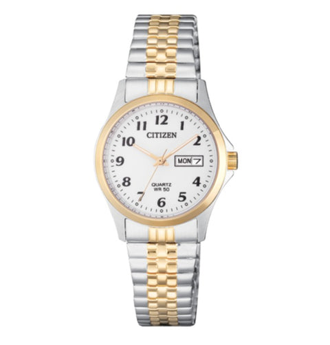 Citizen EQ2004-95A Ladies Quartz Day-Date Expander