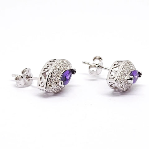 Sterling Silver Earring 34068