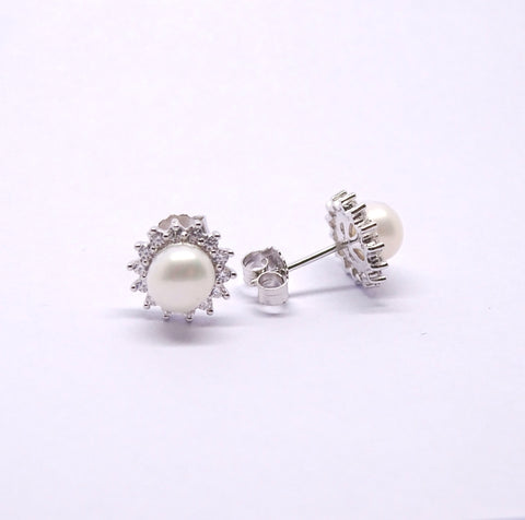 Sterling Silver Earring 34081