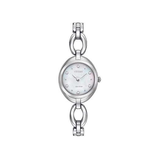 Citizen Silhouette steel eco drive ladys watch 34177