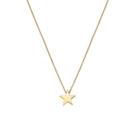 "Little Star 16"" chain 9ct Yellow Gold Pendant 34157"