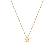 "Little Star 18"" chain 9ct Yellow Gold Pendant 34158"