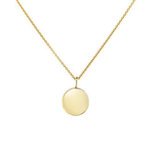 Love Token 9ct Yellow Gold Pendant 34159