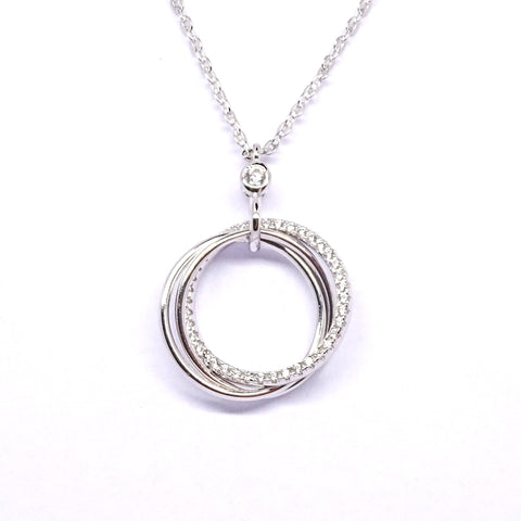 Sterling Silver Pendant 34112