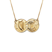 Penny for your thoughts 9ct Yellow Gold Pendant 34165