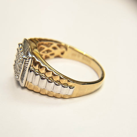 9ct Yellow Gold Ring 33035