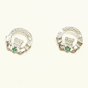 14ct White Gold Earring 25664