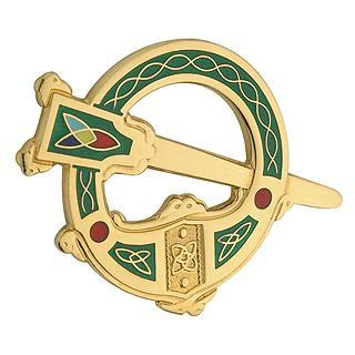 Ladys Gold plated Brooch (29968) - Armin Lowe Jewellers Sligo