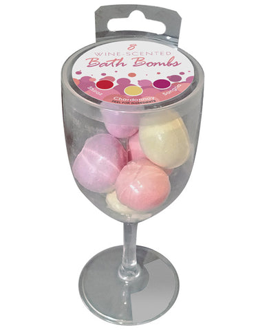 Wine Scented Bath Bombs - Pack Of 8