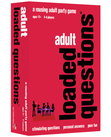 Adult Loaded Questions New Version - Red