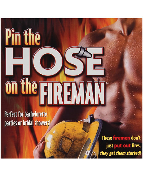 Pin The Hose On The Fireman Game
