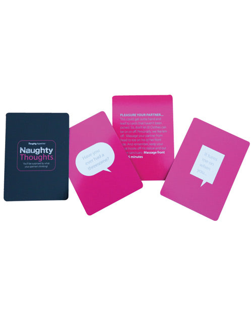 Naughty Thoughts Card Game - English