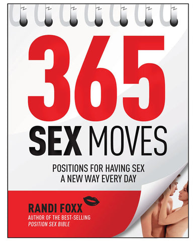 365 Sex Moves Book