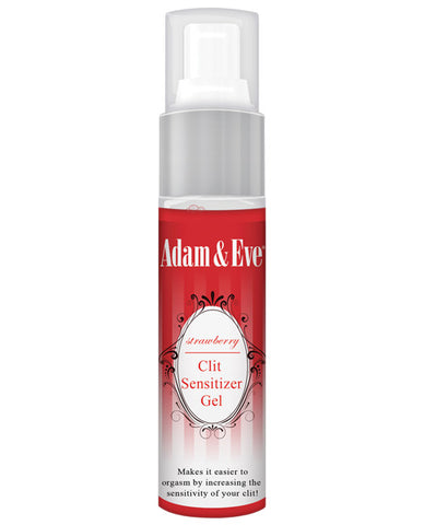 Adam & Eve Clit Sensitizer - 1 Oz Strawberry