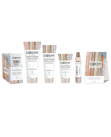 Coochy Coastal Haven Promo Bundle W-free Fragrance Tester & Shelf Talker