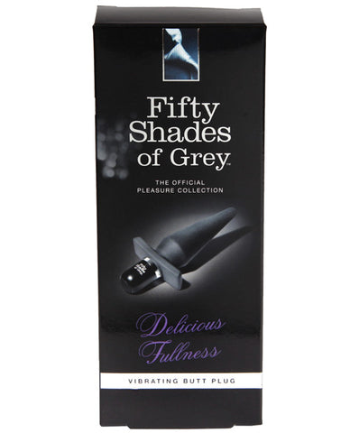 Fifty Shades Of Grey Delicious Fullness Vibrating Butt Plug