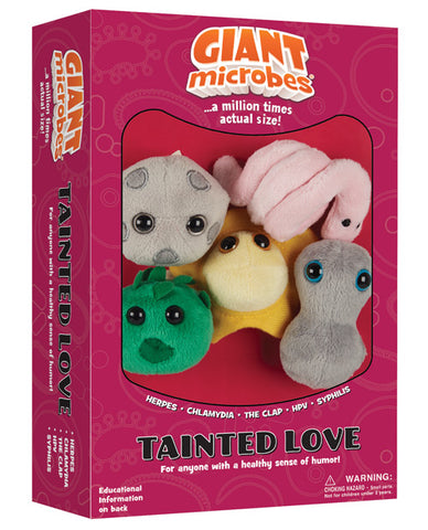 Giantmicrobes Tainted Love Mini's - Assorted Box Of 5