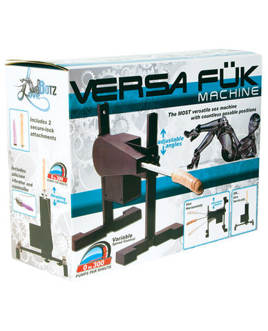 Lovebotz Versa Fuk Sex Machine - Black