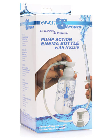 Cleanstream Pump Action Enema Bottle W-nozzle